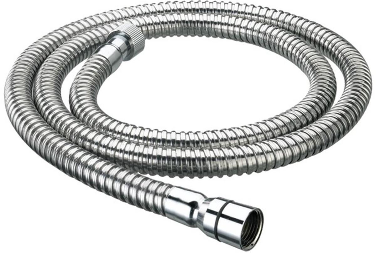 2.0m Cone to Nut Shower Hose - 8mm Bore